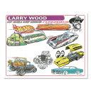 Larry Wood デザイン ホット ウィール ハンドアウト