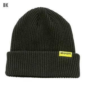 MOONコットン/アクリルビーニーキャップ