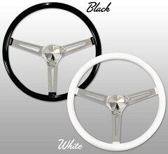 "MOONEYES Classic Style Steering Wheel 38cm(15"") SLOTTED SPOKES"