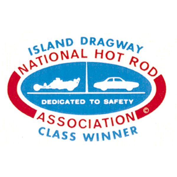 ホットロッド ステッカー NHRA ISLAND DRAGWAY デカール画像
