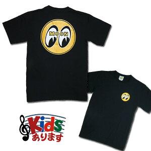 MOONEYES オリジナルTシャツMOON EYEBALL T-Shirts Black from USA