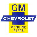 GM CHEVROLET GENUINE PARTSステッカー