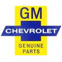 GM CHEVROLET GENUINE PARTSステッカー