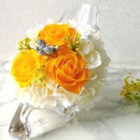 プリザーブドフラワーシンデレラのガラスの靴ヒールギフトバラ誕生日プレゼント花敬老の日お祝い結婚祝い結婚記念日退職祝い送別会還暦祝いお誕生日ラッピング新築祝いお見舞い