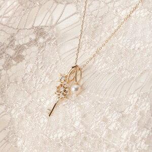 【Moon Label】予算3万以内で選ぶ 6月誕生石パール真珠ネックレス・ペンダント パールネックレス/Cherish パールペンダント・キー K10