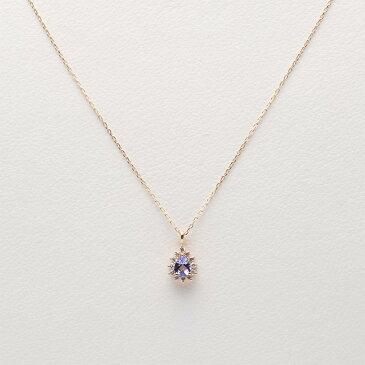 タンザナイト ネックレス Color Jewels ペンダント タンザナイト K10 レディース クリスマス プレゼント
