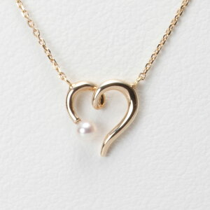 【Moon Label】予算3万以内で選ぶ 6月誕生石パール真珠ネックレス・ペンダント パール ネックレス/BabyハートペンダントK10