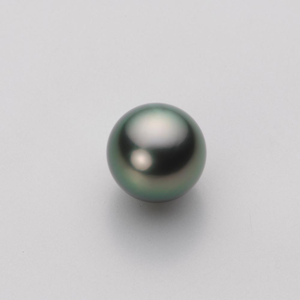 パール リング 10mm 黒蝶 真珠 リング K18WG ホワイトゴールド レディース NB00010R21DG0D01W0