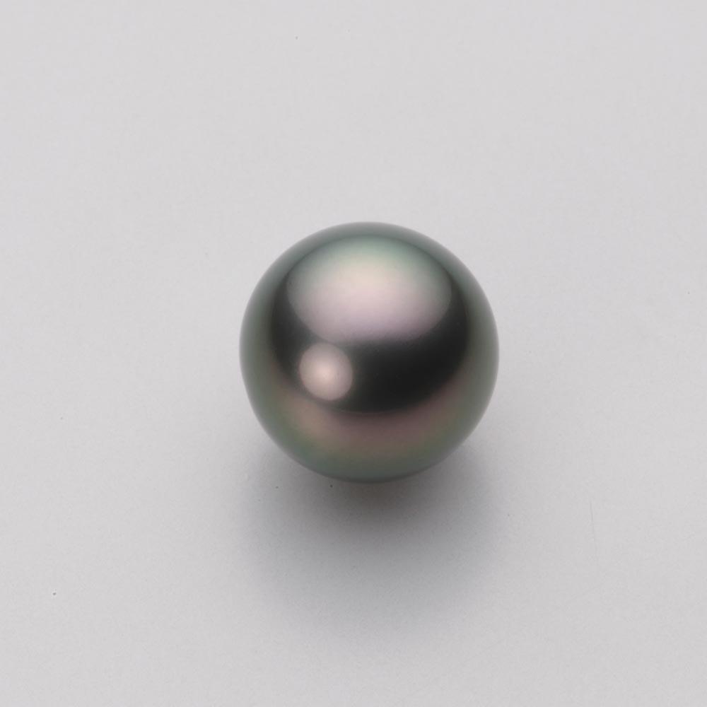 パール リング 11mm 黒蝶 真珠 リング K18WG ホワイトゴールド レディース NB00011R22RB0D04W1