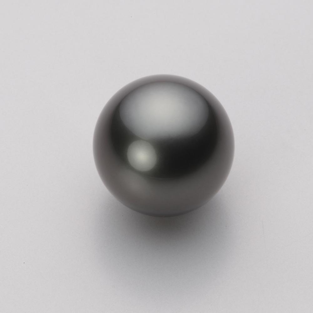 パール ネックレス 13mm 黒蝶 真珠 ペンダント K18 イエローゴールド レディース NB00013R23PC01278Y
