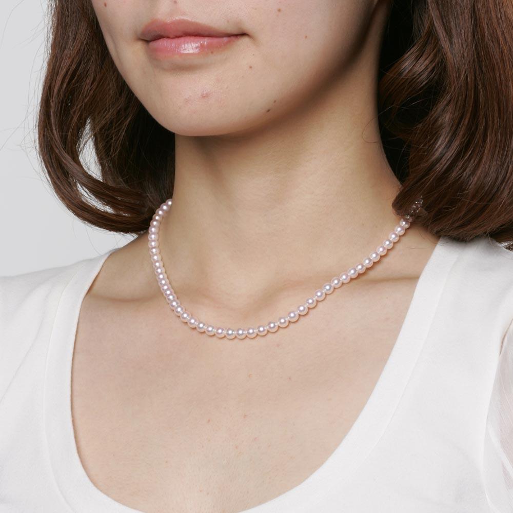 ベビーパール あこや真珠 ネックレス 5.0mm ベビーパール アコヤ 真珠 ネックレス レディース CA00050R12WPN00000