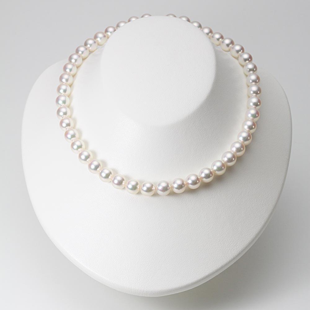 あこや真珠 パール ネックレス 9.0mm アコヤ 真珠 ネックレス レディース CA00090O51WPG00000