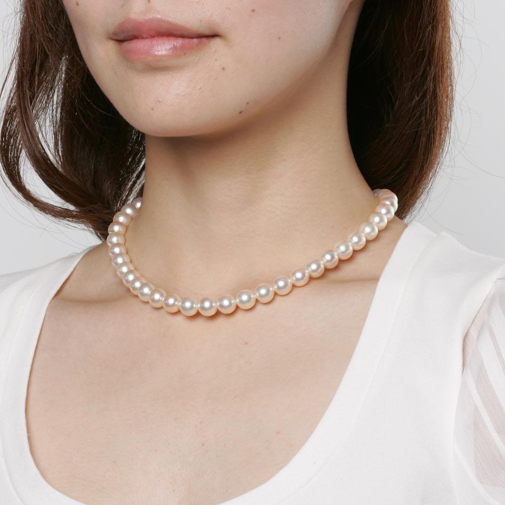 あこや真珠 パール ネックレス 9.0mm アコヤ 真珠 ネックレス レディース CA00090O52CG000000