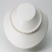 5.0-8.0mmアコヤ真珠ネックレス(ホワイトピンク・マリン)