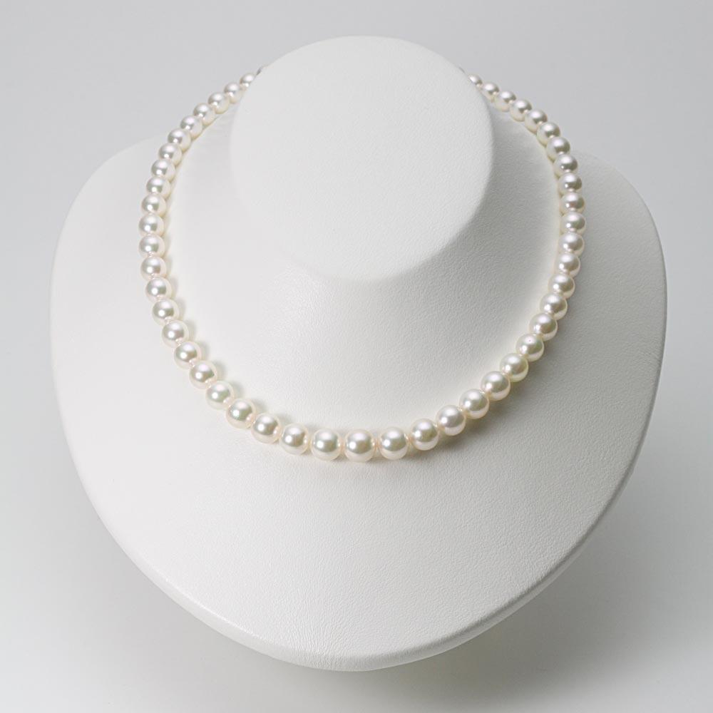 あこや真珠 パール ネックレス 6.0-9.0mm アコヤ 真珠 ネックレス レディース GA09060R33WPG00000