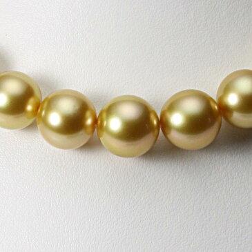 南洋真珠 パールネックレス 12-14mm 白蝶 真珠 ネックレス GW01412R13NG000000