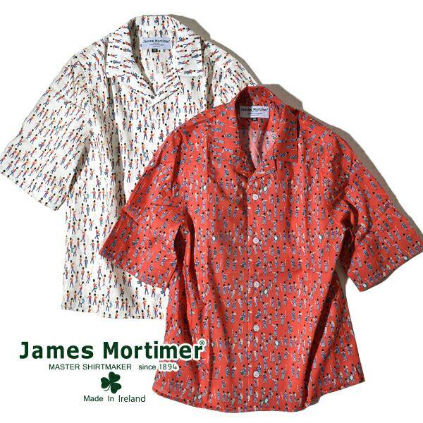 トップス, シャツ・ブラウス 20OFF30OFF SALE James Mortimer LIBERTY from London with Love Musical March