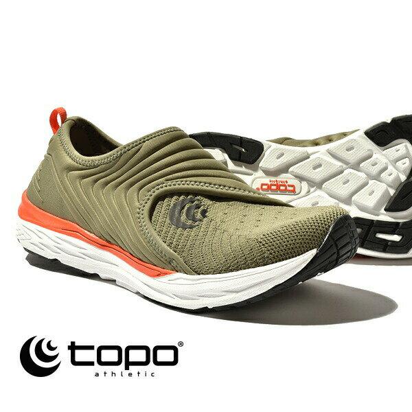 レディース靴, スニーカー  Topo athletic VIBE 5002172 08 OliveOrange