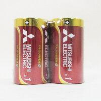 三菱/アルカリ乾電池/単1
