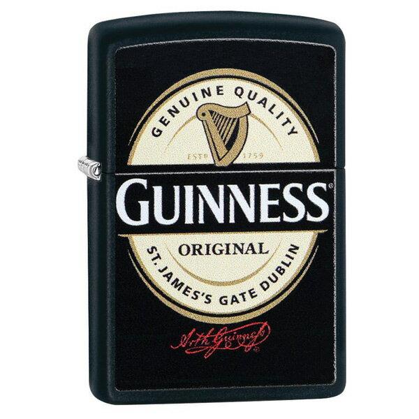 ジッポー ライター USAライン 29755 ギネス ビール/送料無料(沖縄離島除く)