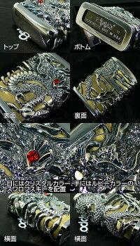 Zippo天龍(三)フルメタルジャケット■TG-GIB