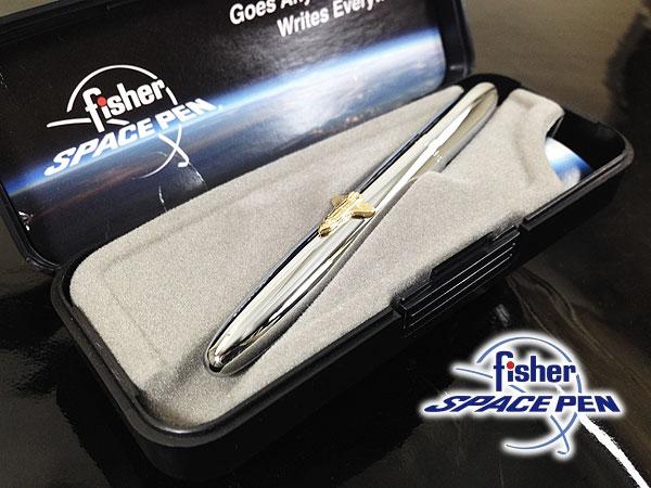 フィッシャーボールペンブレット600SHクロームスペースシャトルBULLETfisherSPACEPEN日本正規品/送料無料(沖縄離島除く)