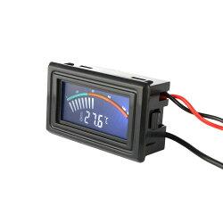 keyniceデジタル温度計-50℃〜+110℃DC4〜25V対応PC電源4ピンコネクタ搭載温度単位℃/°Fの切替可コード長1M