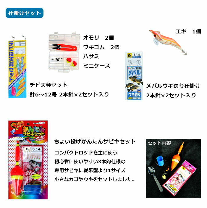 TOISTAX『サビキ釣り入門セット(200A-280D)』