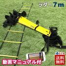 送料無料7mプレート13枚V-6/V-8トレーニングラダーラダーサッカーフットサルトレーニングラダートレーニング【7m13段】