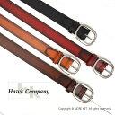 ホークカンパニー Hawk Company グラデーション レザーベルト 310(4色) メンズ レディース ユニセックス 牛革 [11S]14S-7