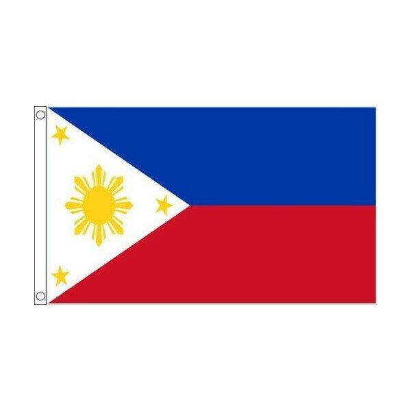 【送料無料】 国旗 フィリピン共和国 150cm × 90cm 特大 フラッグ 【受注生産】