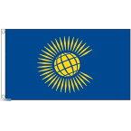 【送料無料】 国旗 イギリス連邦 コモンウェルス 旗 150cm × 90cm 特大 フラッグ 【受注生産】