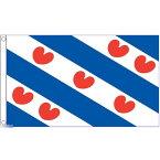 【送料無料】 国旗 オランダ フリースラント州 旗 150cm × 90cm 特大 フラッグ 【受注生産】