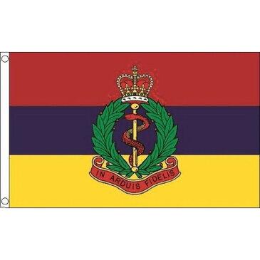 【送料無料】 国旗 イギリス 英国 陸軍 RAMC ロイヤル アーミー メディカル 150cm × 90cm 特大 フラッグ 【受注生産】