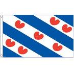 【送料無料】 国旗 フリースラント州 オランダ 150cm × 90cm 特大 フラッグ 【受注生産】