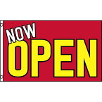 【送料無料】 国旗 オープン OPEN 開店 開業 のぼり旗 オープンハウス 内覧会 150cm × 90cm 特大 フラッグ 【受注生産】