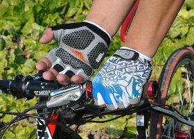 自転車グローブサイクルグローブサイクリンググローブサイクリンググローブ累計出荷数200000個突破HANDCREWハーフGEL入りSS-8-2