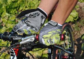 HANDCREW自転車グローブサイクルグローブサイクリンググローブ累計出荷数100000個突破フルーフィンガーGEL入りOSCAR2SF-3-2