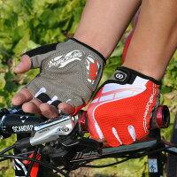 HANDCREW自転車グローブサイクルグローブサイクリンググローブハーフGEL入りSS-5