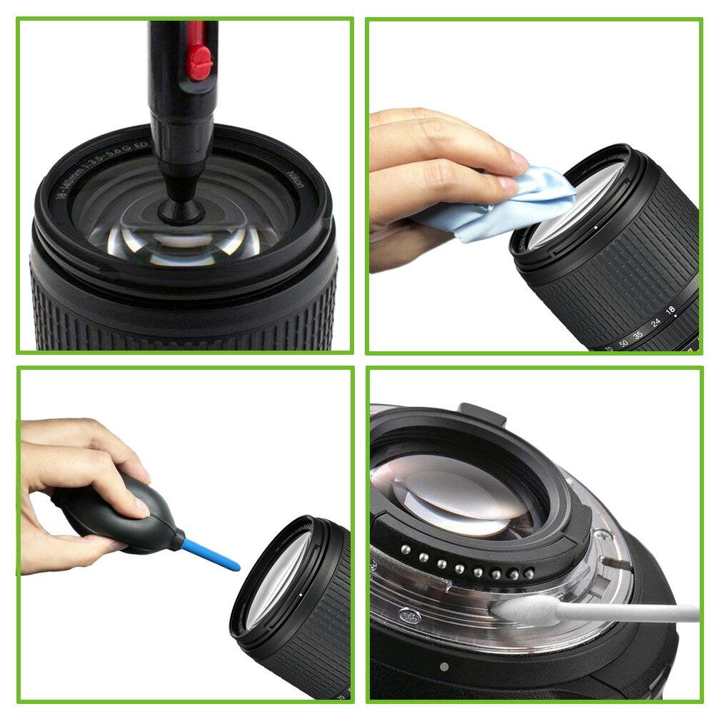 カメラクリーニングキット 9点セット / レンズペン ブロアー ブラシ 一眼レフ ミラーレス カメラ 掃除 メンテナンス /対応機種 Nikon D3400 D3500 D5300 D5600 Canon EOS Kiss X9 X9i X8i EOS kiss M レンズキット ダブルズームキット など