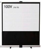 泉パンタグラフ式フロアタイプスクリーン100インチRS-100V