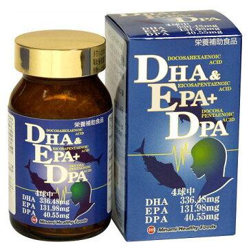 【送料無料】【ケース販売】DHA&EPA+DPA (120球入)【オメガ3脂肪酸】〔ケース入数 40〕
