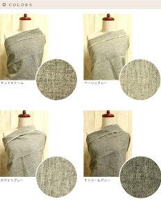 【生地布】【平織り】【雑誌掲載】無地ラミーリネントップグレー1/25番手108cm幅