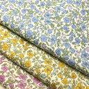 【 生地 布 】 【 花柄 】 コットン ブロード フラワープリント入園入学向けお弁当袋など小物、洋服におすすめ♪