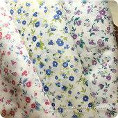 【生地布】【花柄】【コットン】〜porteシリーズ〜オリジナルputitfleurプチフルール112cm幅