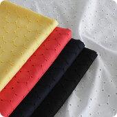 【生地布】【コットン】【刺繍】60コットンローンエンブロイダリー