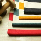 【生地布】【コットン】生地の森オリジナル11号帆布ワイドボーダープリント