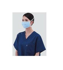 医療用マスクをしている女性の画像