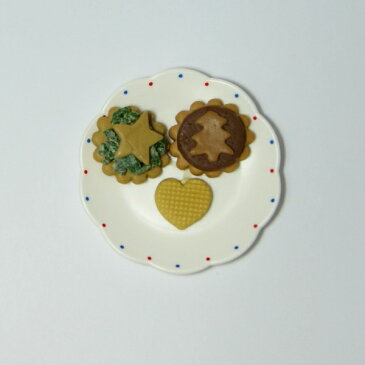 アイスタジオ ミニチュアパーツ クッキー(大皿) M29