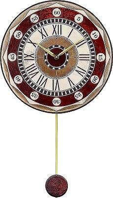 ザッカレラ掛時計 (振り子付き) クオーツ(イタリア製) ZC135-001 [送料無料] 【楽ギフ_包装選択】【楽ギフ_のし宛書】【楽ギフ_メッセ入力】:オルゴールと時計の杜のうた